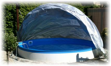 Schwimmbecken abdeckung for Rundpool folie